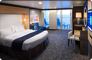 Accessible Superior Ocean View Stateroom With Balcony On