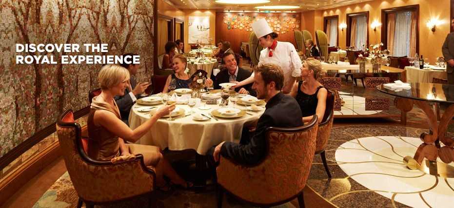 Onboard Experience Dining Restaurant