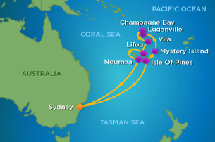 12 Night South Pacific Cruise